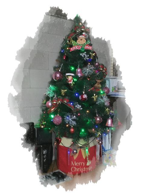 크리스마스 트리 설치